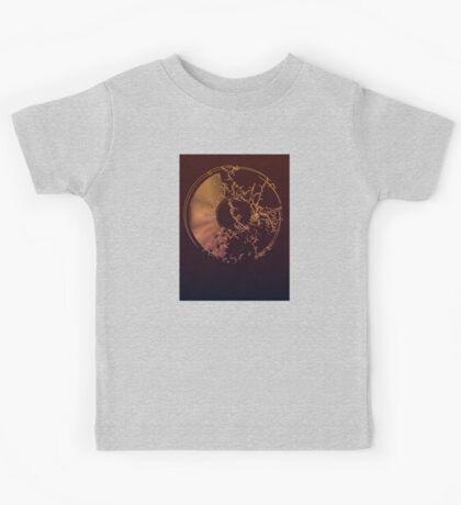 Vinyl Record Gold Explosion Kids Tee