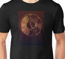 Vinyl Record Gold Explosion Unisex T-Shirt