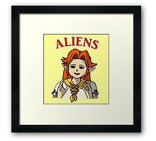 Romani Aliens Framed Print