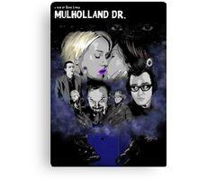 MULHOLLAND DRIVE POSTER - SILENCIO /// Canvas Print