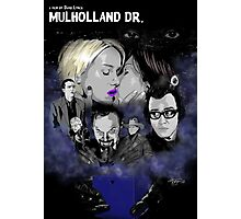 MULHOLLAND DRIVE POSTER - SILENCIO /// Photographic Print