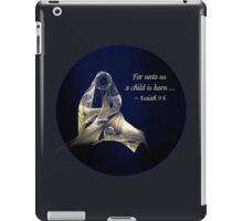 Holy Mother and Child Abstract iPad Case/Skin