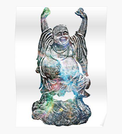 Happy Buddha   Tarantula Nebula Poster