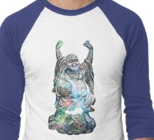 Happy Buddha | Tarantula Nebula Men's Baseball ¾ T-Shirt