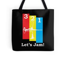 Cowboy Bebop 3, 2, 1, Let's Jam! Tote Bag