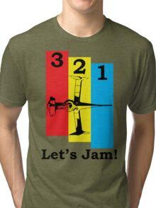 Cowboy Bebop 3, 2, 1, Let's Jam! Tri-blend T-Shirt