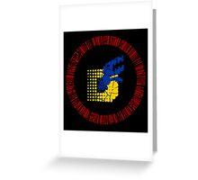 Digimon Tamers Card Symbol Greeting Card