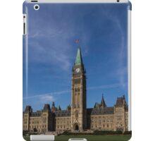Center Block of the Canadian government - Ottawa, Ontario iPad Case/Skin