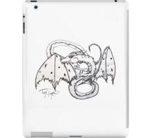 Charcoal Dragon iPad Case/Skin