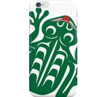 Kwagiulth Frog iPhone Case/Skin