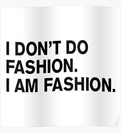 Im Fashion Poster