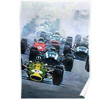 1967 Dutch GP Zandvoort Poster