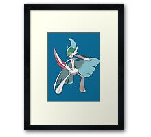 Pokemon- Mega Gallade Framed Print