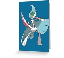 Pokemon- Mega Gallade Greeting Card