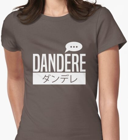 Dandere Womens Fitted T-Shirt