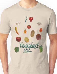 I Heart Veggies! Unisex T-Shirt