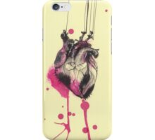 Heart on strings iPhone Case/Skin