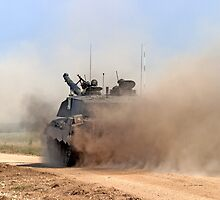 Challenger 2 Main Battle Tank (MBT) British Army by Andrew Harker