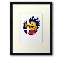 Smash Pac-Man Framed Print