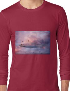 Mountain and Lake Long Sleeve T-Shirt