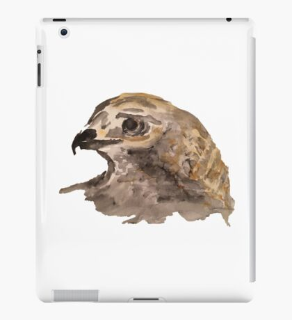 Hawk - No Background iPad Case/Skin