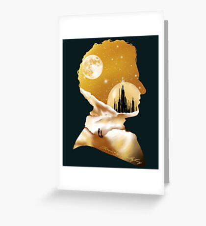 Finding Gallifrey Greeting Card