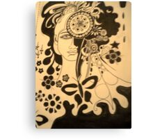 Clockwork dreaming. Canvas Print