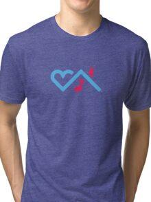 I Love Chicago House Music Tri-blend T-Shirt