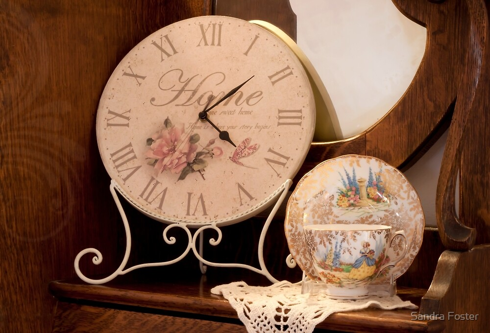 Favorite Clock by Sandra Foster