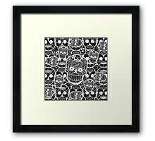 Sugar Skulls Framed Print
