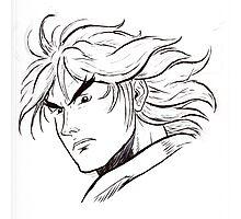 Street Fighter II Portraits - Ken Photographic Print