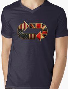 UKUS old  sign Mens V-Neck T-Shirt