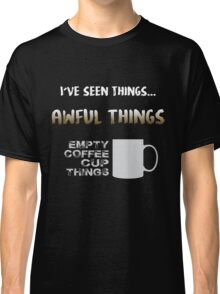 Empty coffee cup things Classic T-Shirt