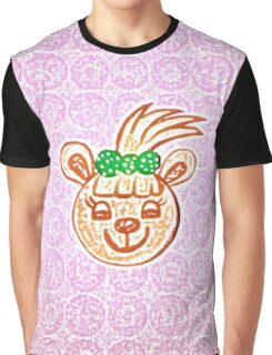 Gina the happy bear by Nikki Ellina Graphic T-Shirt