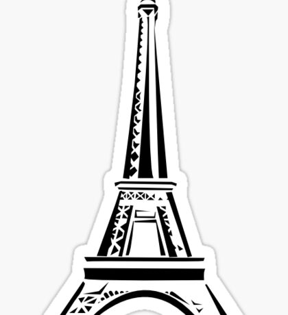 More of the Eiffel Tower Sticker