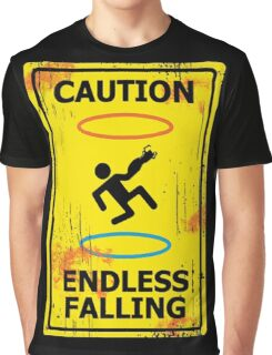Caution - Portal Graphic T-Shirt
