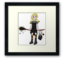 Samantha The Witch Framed Print