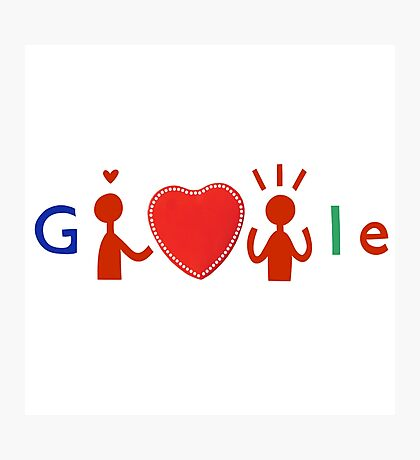 Hi, Google Photographic Print