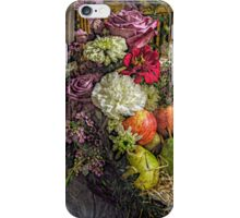 Fruit and Flower Basket for the Fall iPhone Case/Skin