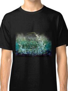 Smokey Splattered Blue Classic T-Shirt
