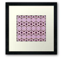 Matrix in bloom Framed Print