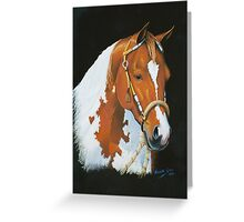 Tobiano Greeting Card