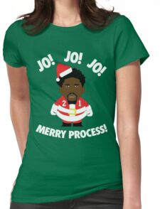 Merry Process! (Red/White) Womens Fitted T-Shirt