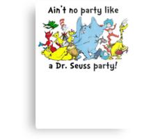Dr. Seuss Party Metal Print