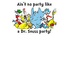Dr. Seuss Party Photographic Print