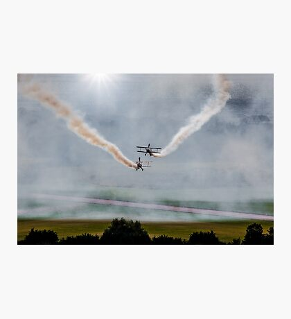 Barnstormers, Late Afternoon Smoking Session! Photographic Print