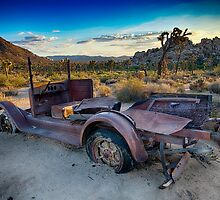 Car #1, Joshua Tree National Park by Peter B