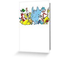 DR SEUSS GROUP SHOT Greeting Card