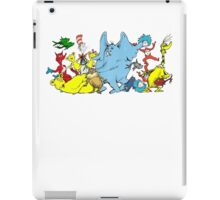 DR SEUSS GROUP SHOT iPad Case/Skin