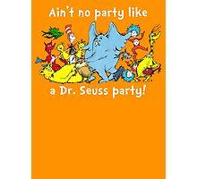Dr. Seuss Party - White Photographic Print